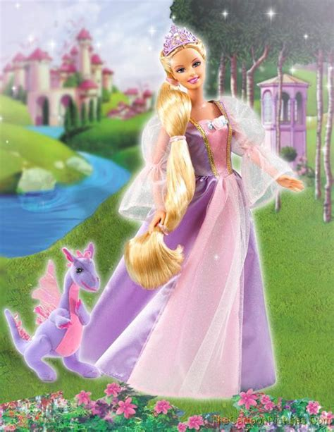 film barbie rapunzel hollywood artist maya barbie as rapunzel movie wallpapers