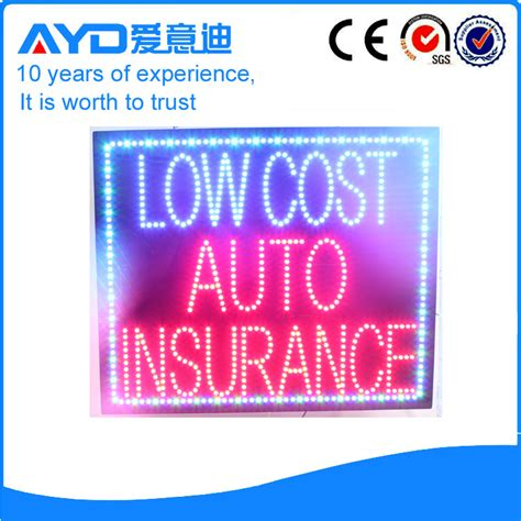 low cost auto insurance ayd low cost auto insurance sign