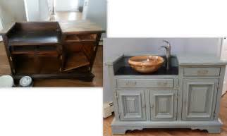 diy bathroom vanity sink to real sink hudson