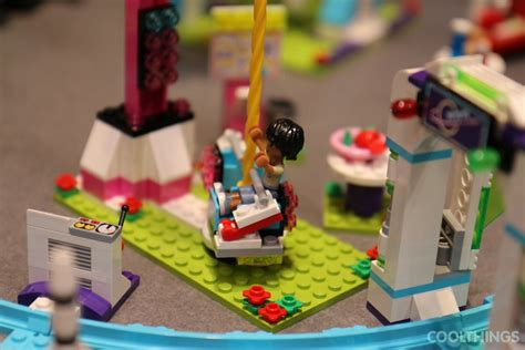 lego friends set  amusement park roller coaster