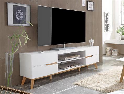 tv möbel wohnzimmer lowboard celio 1 wei 223 eiche 169x56x40 cm tv board tv m 246 bel