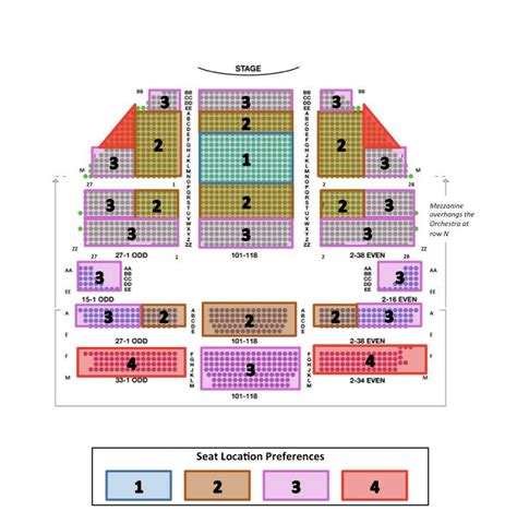 gershwin theater seating gershwin theatre seating chart info review advice
