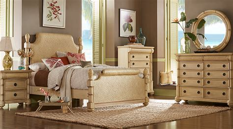 cindy crawford bedroom furniture discontinued cindy crawford home key west sand 7 pc king sleigh bedroom king bedroom sets light wood