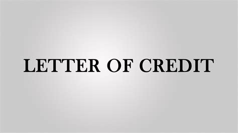 T Mobile Letter Of Credit letter of credit in