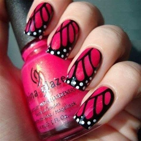 easy nail art butterfly stylish butterfly nail designs butterfly nail art