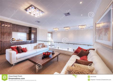 living room with white sofa modern living room with white sofa stock photo image