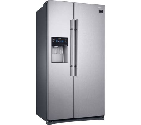 Samsung American Fridge Freezer No Plumbing by Buy Samsung Rs53k4400sa American Style Fridge Freezer Silver Free Delivery Currys