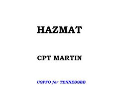 Cdl Hazmat Background Check Ppt Hazmat Scenario Powerpoint Presentation Id 6853887