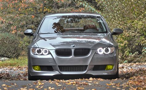 what does it get light out in pa would it look ricey for a tiag e92 with yellow fogs