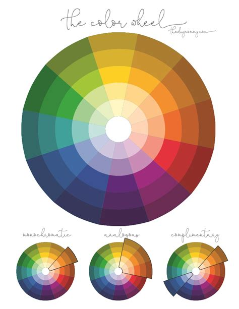 color wheel home decor how to use color in home decor the diy mommy