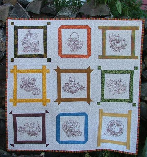 Advanced Embroidery Designs Free Projects And Ideas - autumn wall quilt advanced embroidery designs