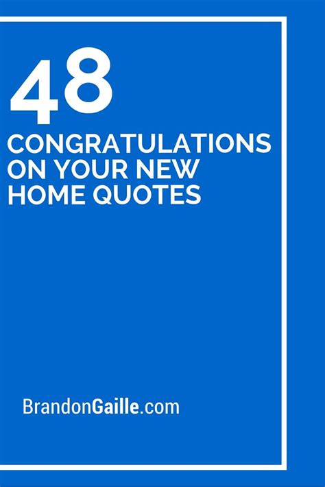 congratulations    home quotes  home quotes  home card message  home cards
