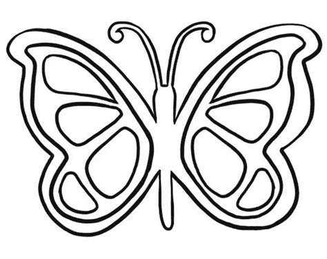 template of butterfly to print large butterfly template printable vastuuonminun