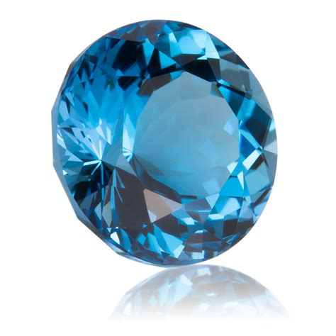 Blue Topaz For electric blue topaz 4 98ct king gems