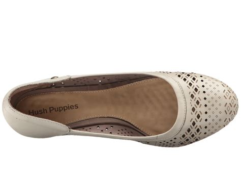 hush puppies mindon rhea in white lyst