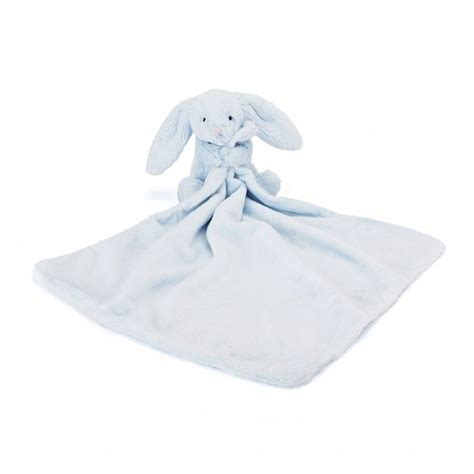 Jellycat Comforter by Jellycat Bashful Blue Bunny Soother Buy On Line At