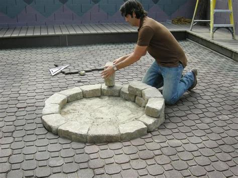diy pit ideas i put a on my patio how to build with cool garden ideas how to build a pit hgtv
