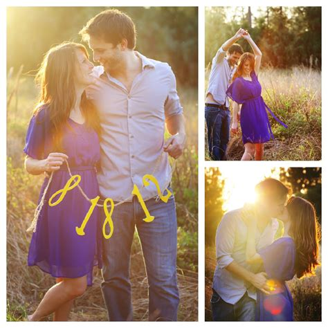 Engagement Pictures by Country Style Engagement Session Rustic Wedding Chic