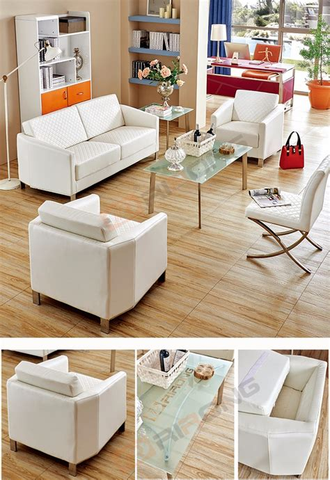 plaid living room furniture modern living room furniture sectional plaid white pu leather sofa set with 5 pieces buy