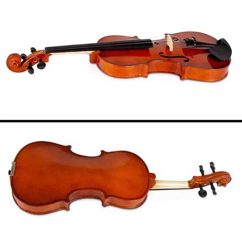violine set size 4 4 wooden beginner violin set brown