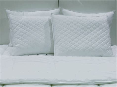 louisville bedding company pillows down etc diamond support euro square pillow set 2 euro