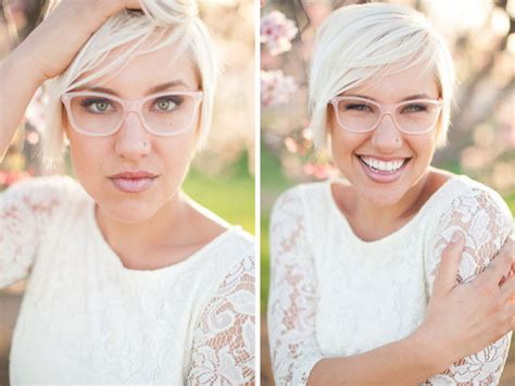 braut mit brille wearing glasses on your wedding day tasteful tatters