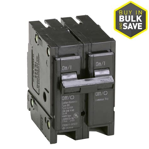 Search Breaker Shop Eaton Type Br 30 2 Pole Circuit Breaker At Lowes
