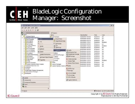 Bladelogic Patch Management by Ce Hv6 Module 65 Patch Management