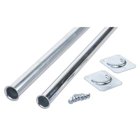 Adjustable Closet Pole by Closet Pro Adjustable Closet Rod 18 Quot 30 Quot Zinc R 233 No D 233 P 244 T