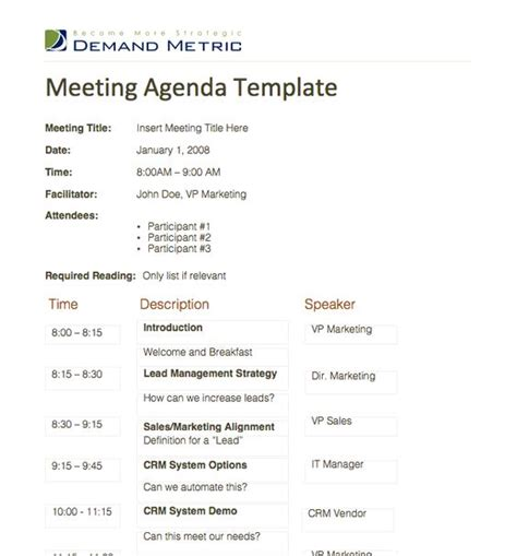 image gallery office meeting agenda topics