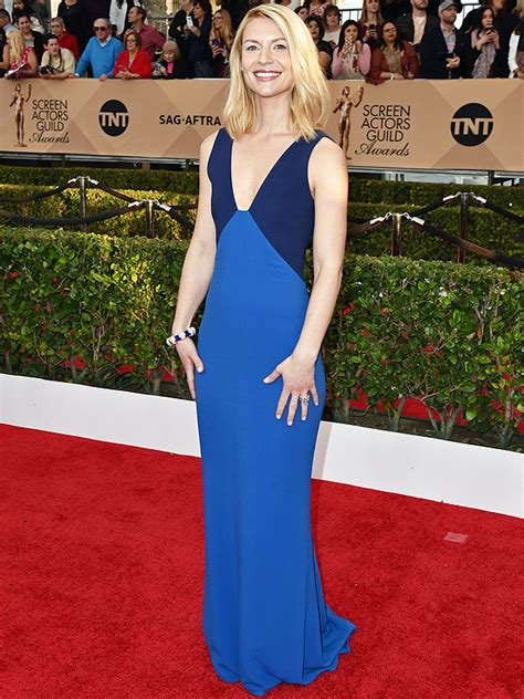 claire danes red carpet sag awards 2016 claire danes on time with son i make