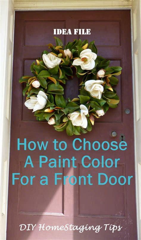 diy home staging tips front door  paint  steps