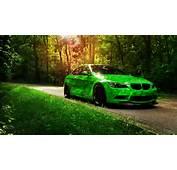 Free Wallpapers  Green BMW M3 2560x1440 Wallpaper