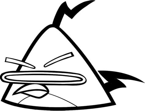 angry birds coloring pages chuck angry bird space coloring pages pictures 7724