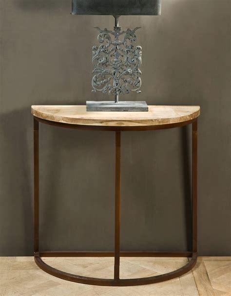 Half Moon Table Decor by Half Moon Entry Console Table Decorative Table