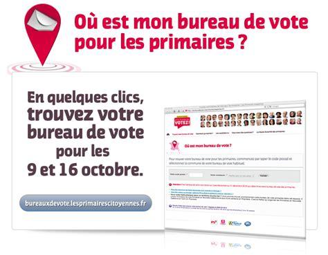 Mode D Emploi Des Primaires Trouver Son Bureau De Vote Trouver Bureau De Vote