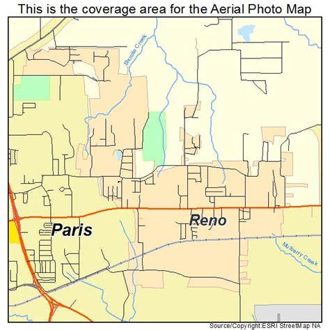 reno map aerial photography map of reno tx