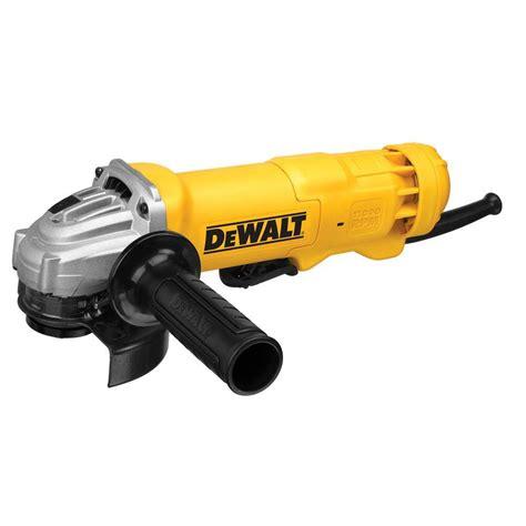 dewalt 120 volt 4 1 2 in corded small angle grinder