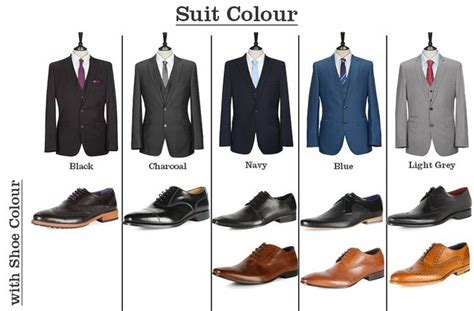 suit shoes matching guide s clothing