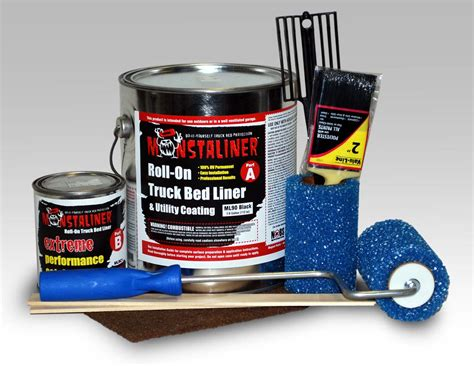 roll on truck bed liner tame your bedliner beast with monstaliner
