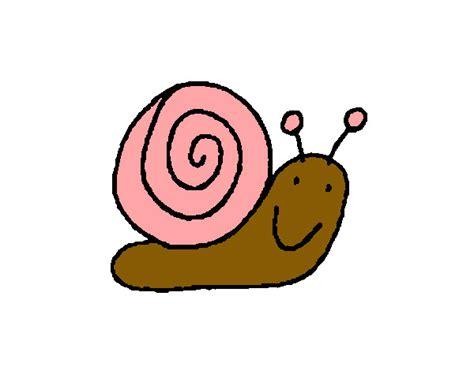 imagenes de animales lentos dibujo de caracol lento pintado por lefevifi en dibujos