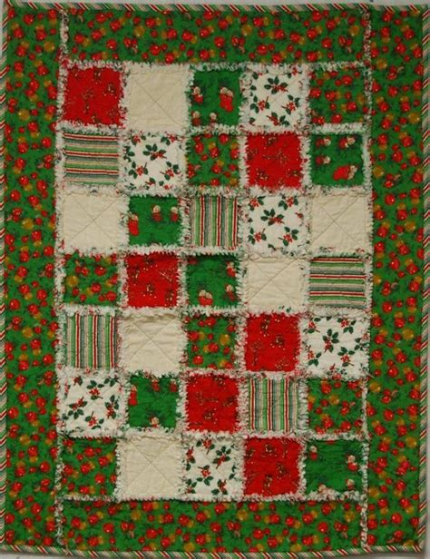 pattern for christmas quilt christmas rags quilt craftsy