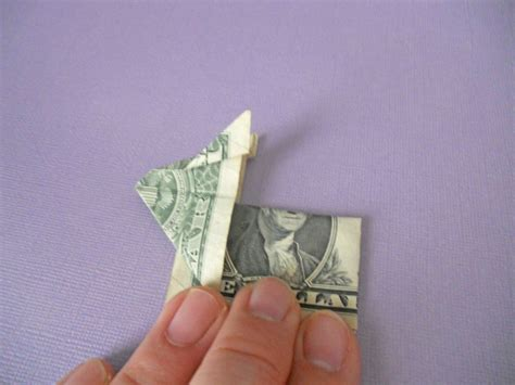 Origami Rabbit Ear - how to make an origami bunny out of money