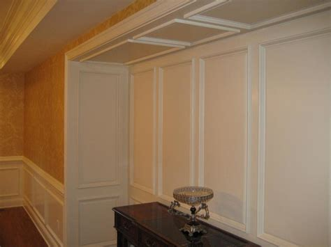 Dining Room Wainscoting Panels by Raised Panel Wainscoting Traditional Dining Room New