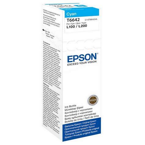 Epson T664 epson t664 cyan bote 70ml cartucho toner epson original