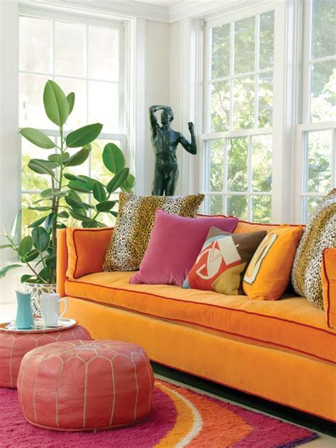And Orange Living Room by Pink And Orange Living Room Design Ideas Pictures