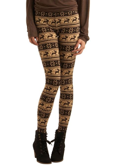 deer pattern leggings 15 best images about swappy on pinterest land s end