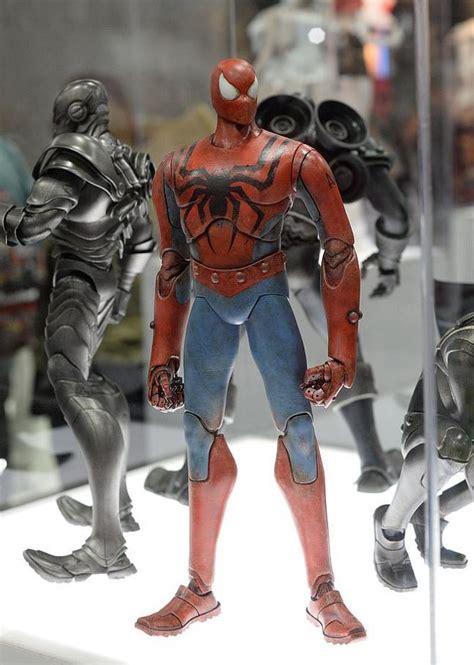 figure 3a sdcc 2015 threea toys spider figures revealed