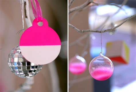 neon xmas tree 30 chic neon diy trees and ornaments