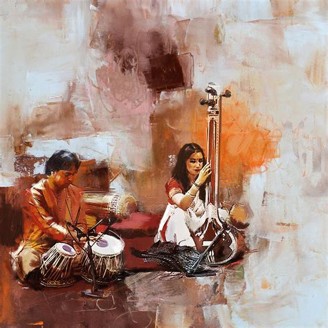 biography of indian classical artist classical dance art 17 painting by maryam mughal
